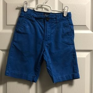Gap Kids blue chino shorts